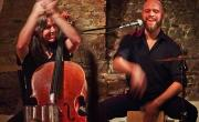 2016 - Sören Vogelsang & Band - Tour 2016 - Natasha Jaffe (Cello) - Kai Prawitt (Percussion)